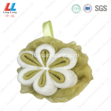 durable+Smooth+flower+massage+mesh+sponge+ball